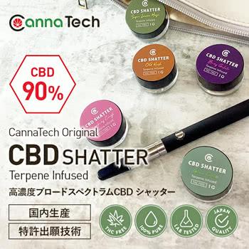 cannatech(キャナテック)CBDシャッターワックス