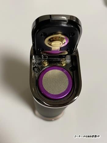 テクニカルMOD18650バッテリーを入れる
