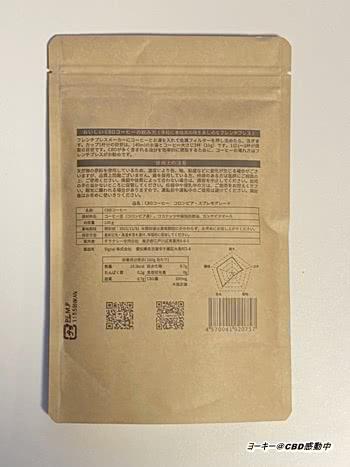 チラクシーCBDコーヒー原材料