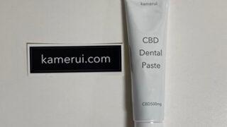カメルイCBD歯磨き粉の口コミ評判と購入レビュー
