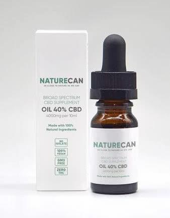 ネイチャーカン(Naturecan)高濃度40%CBDオイル